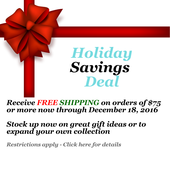 Free Holiday Shipping Promo
